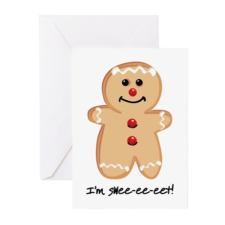 I'm Sweet Greeting Cards (Pk of 10)