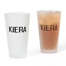 Kiera Digital Name Drinking Glass