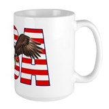 Flying American Eagle Mug
