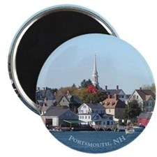 Portsmouth NH Waterfront Magnet