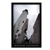 """Ocracoke Lighthouse"" Postcards (Package of 8)"