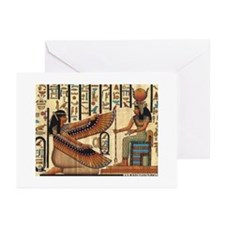 Isis Maat Egyptian MagickGreeting Cards (Pk of 20)