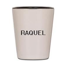 Raquel Digital Name Shot Glass