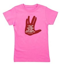 Cute Trekkie Girl's Tee