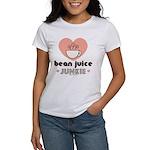 Bean Juice Junkie Coffee Lovers Women's T-Shirt