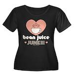 Bean Juice Junkie Plus Size Scoop Neck T-shirt