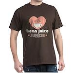 Bean Juice Java Junkie Coffee Lovers Brown T-Shirt