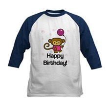 Happy Birthday Monkey Tee