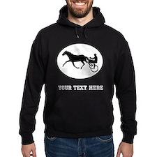 Harness Racing Oval (Custom) Hoodie
