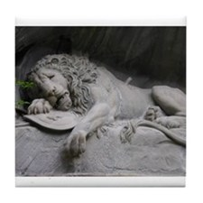 Lion Monument- Tile Coaster