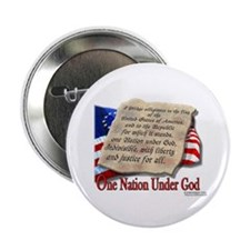"Pledge of Allegiance 2.25"" Button (100 pack)"