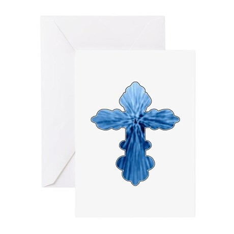 Blue Cross Greeting Cards (Pk of 10)