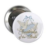 Wedding Doves - Grandmother of Bride Button