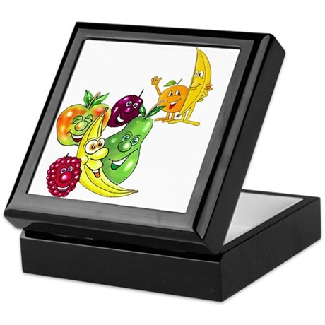 Healthy Happy Fruit Keepsake Box