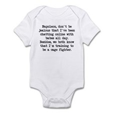Don't Be Jealous (blk) - Napoleon Infant Bodysuit