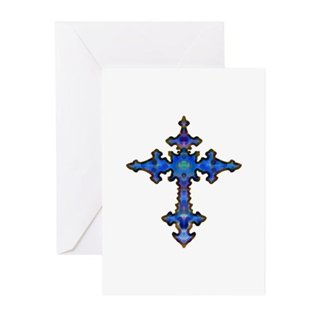 Jewel Cross Greeting Cards (Pk of 20)