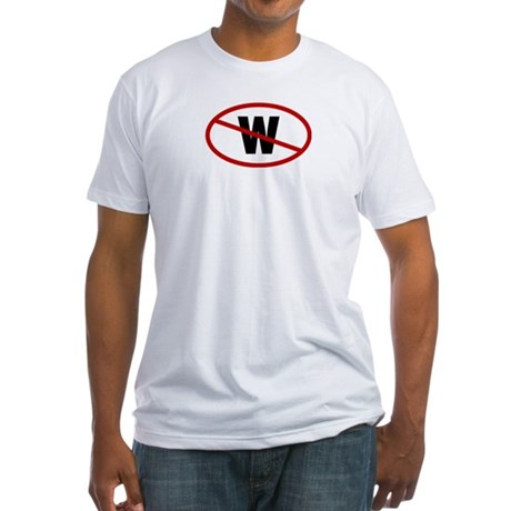 No W. Fitted T-Shirt