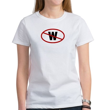 No W. Womens T-Shirt