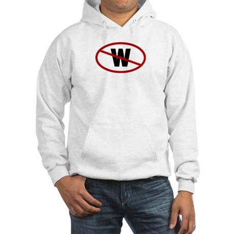No W. Hooded Sweatshirt