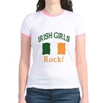 Irish Grils Rock Jr. Ringer T-Shirt