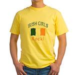 Irish Grils Rock Yellow T-Shirt