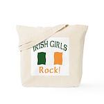 Irish Grils Rock Tote Bag