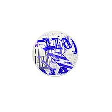 Jazz Blue Mini Button