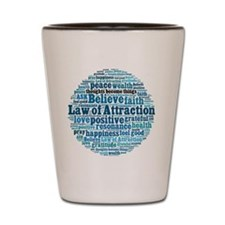 Law of Attraction Shot Glass