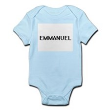 Emmanuel Digital Name Design Body Suit