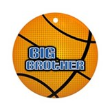 Big Brother Basketball Ornament (Round)