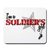 Soldier's Girl Design 3 Mousepad