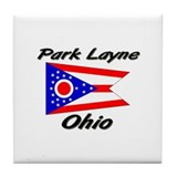 Park Layne Ohio Tile Coaster