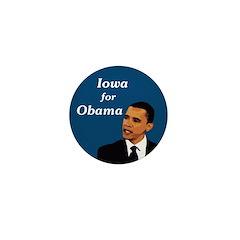 iowa for Obama Campaign Pin