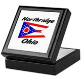 Northridge Ohio Keepsake Box