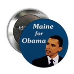 Bulk Rate Ten Maine for Obama Buttons