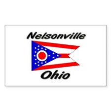 Nelsonville Ohio Rectangle Decal