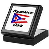 Napoleon Ohio Keepsake Box