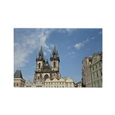 Cute Prague old town Rectangle Magnet