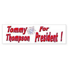 Tommy Thompson Bumper Bumper Sticker