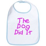 Twisted Imp The Dog Did It Bib