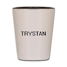 Trystan Digital Name Design Shot Glass