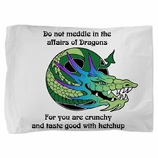 Dragon Crunchies Pillow Sham