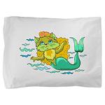 Kitty Mermaid Pillow Sham