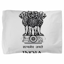 Emblem of India Pillow Sham