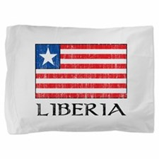 Liberia Flag Pillow Sham