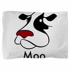 Moo Cow Pillow Sham