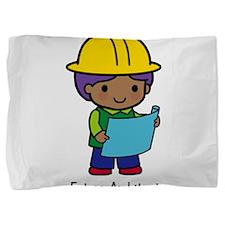 Future Architect boy Pillow Sham