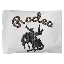 Retro Rodeo Pillow Sham
