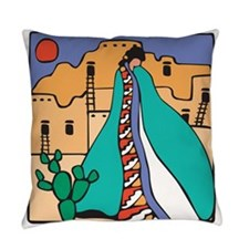 Southwestern Indian Everyday Pillow