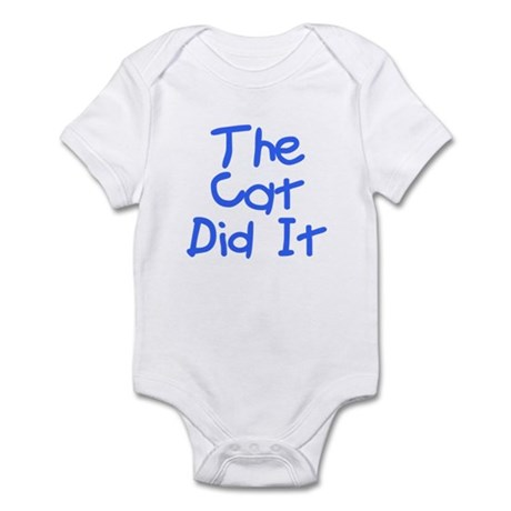 Twisted Imp The Cat Did It Infant Bodysuit